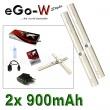 eGo-W 900mAh chromová, 2ks
