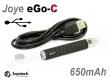 Joyetech eGo-C Upgrade s USB baterie 650 mAh - black