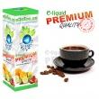 E-liquid: PREMIUM - 10ml / 36mg: KÁVA (Coffee)