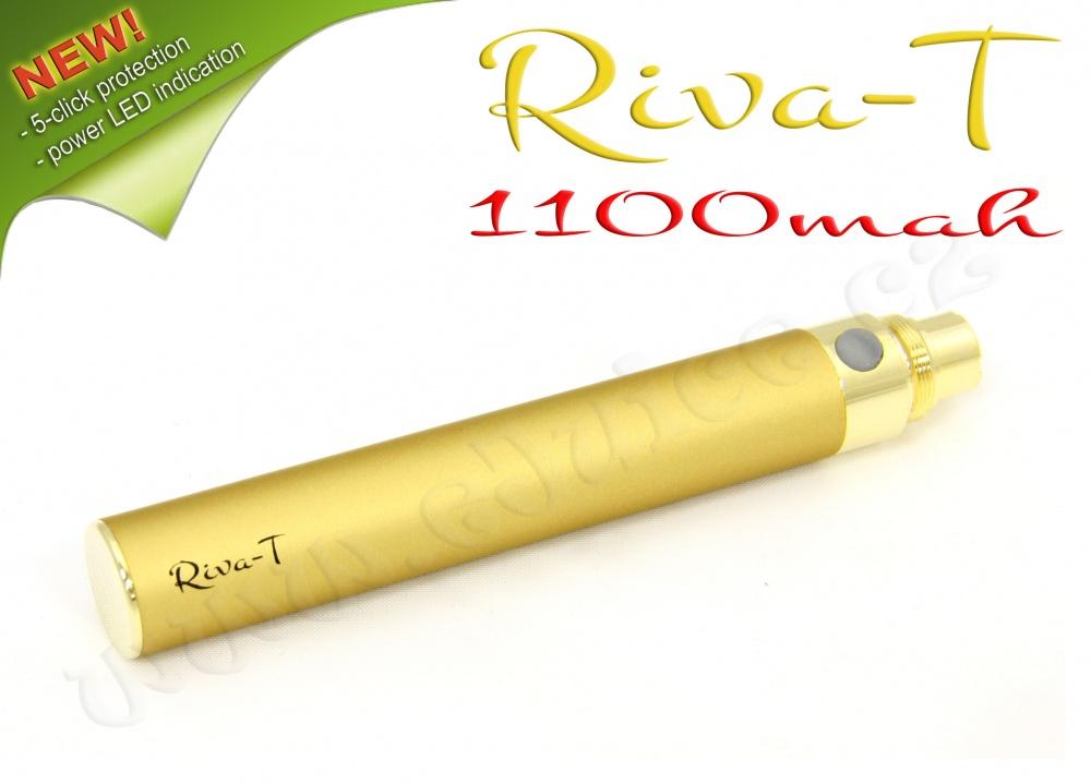 [!Doprodej] - Baterie Riva-T - (1100mAh) - MANUAL (Zlatá)