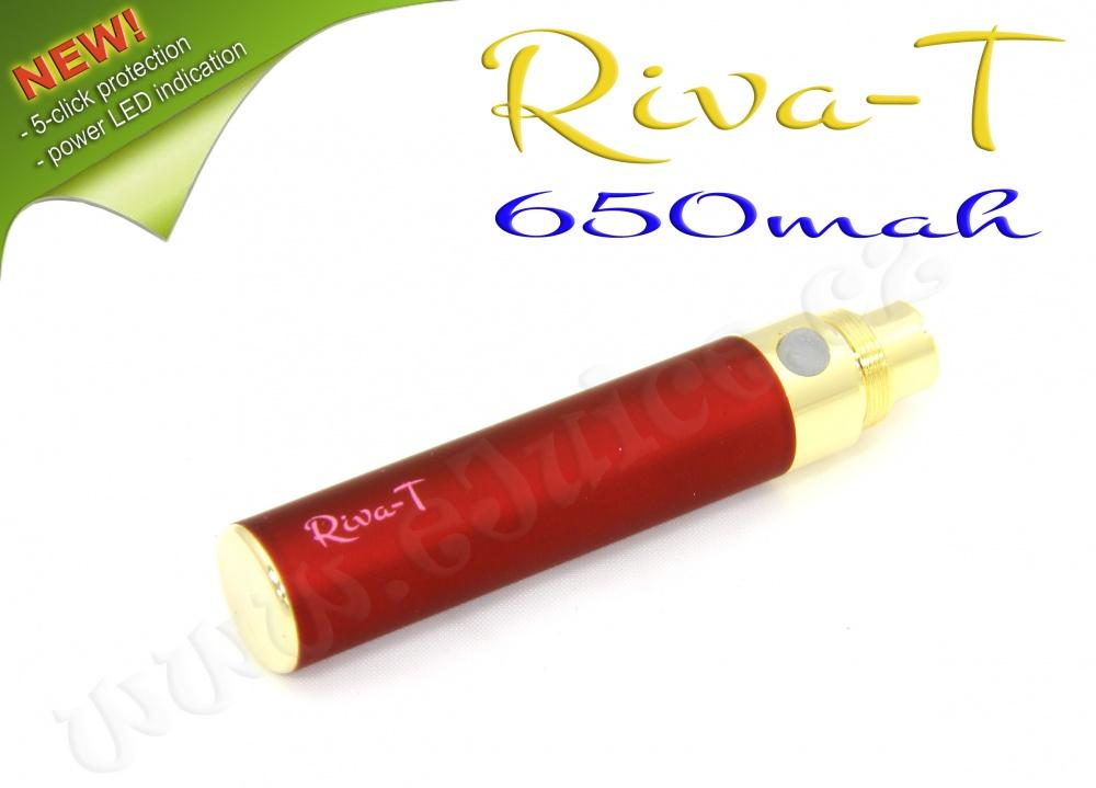 [!Doprodej] - Baterie Riva-T - (650mAh) - MANUAL (Vínová)