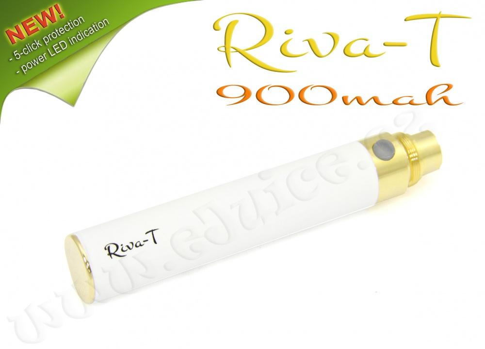 [!Doprodej] - Baterie Riva-T - (900mAh) - MANUAL (Bílá)