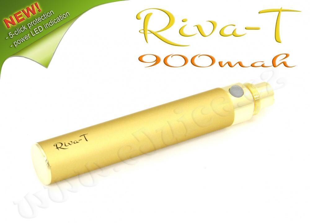 [!Doprodej] - Baterie Riva-T - (900mAh) - MANUAL (Zlatá)