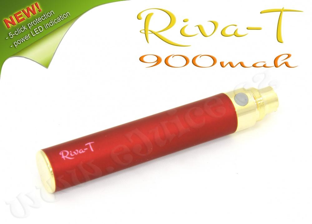 [!Doprodej] - Baterie Riva-T - (900mAh) - MANUAL (Vínová)