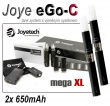 Joyetech eGo-C 650mAh černá, 2ks