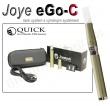 Elektronická cigareta JoyeTech eGo C titanová, 1ks