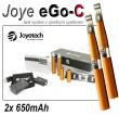 Elektronická cigareta JoyeTech eGo C, 2ks v balení, copper