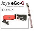 Elektronická cigareta JoyeTech eGo C růžová, 1ks