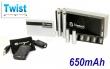 Joyetech eGo-C TWIST 650mAh stříbrná, 2ks