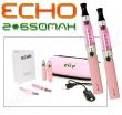 Elektronická cigareta: ECHO - TRAVEL KIT (2x 650mAh) (Růžová), 2