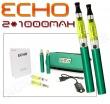 Elektronická cigareta: ECHO - TRAVEL KIT (2x 1000mAh) (Zelená)
