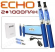 Elektronická cigareta: ECHO - TRAVEL KIT (2x 1000mAh) (Modrá), 2