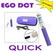 [!Doprodej] - Elektronická cigareta: eGo DCT QUICK (Modrá)