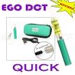 [!Doprodej] - Elektronická cigareta: eGo DCT QUICK (Zelená)