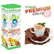 E-liquid: PREMIUM - 10ml / 24mg: BELGICKÉ KAKAO (Cocoa) (EXP: 08