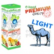 E-liquid: PREMIUM - 30ml / 0mg (ZERO): CAMEL LIGHT (Desert ship