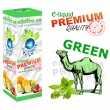E-liquid: PREMIUM - 30ml / 0mg (ZERO): CAMEL MENTOL (Camel Green