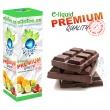 E-liquid: PREMIUM - 10ml / 24mg: ČOKOLÁDA (Chocolate) (EXP: 08/2