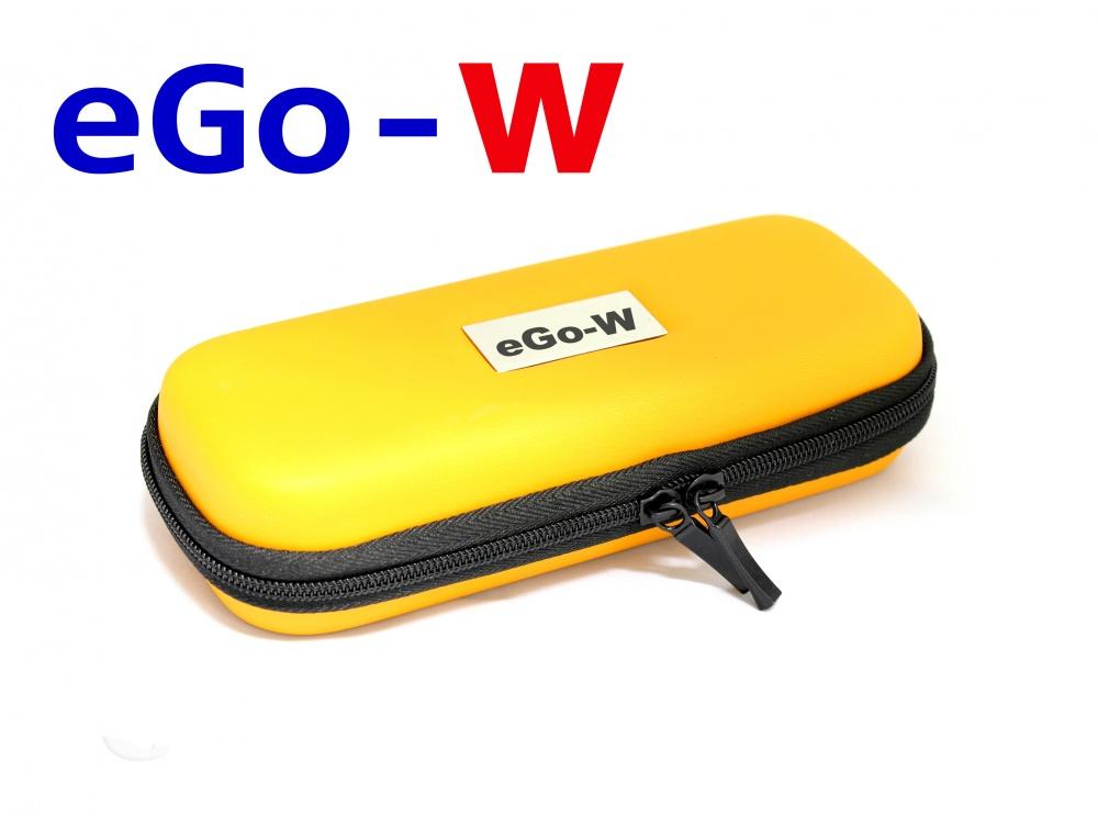 [!Doprodej] - Pouzdro pro elektronickou cigaretu (logo eGo-W) (Oranžové)