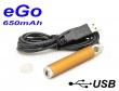 [!Doprodej] - Baterie Joyetech eGo / USB passthrough (650mAh) -