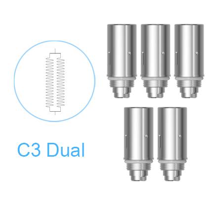 Náhradní žhavící tělísko Joyetech C3 Dual pro Delta clearomizér (5ks)