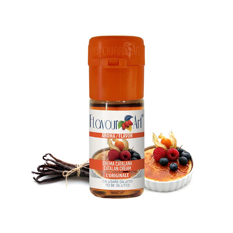 Příchuť FlavourArt: Creme Brulee (Catalan cream) 10ml