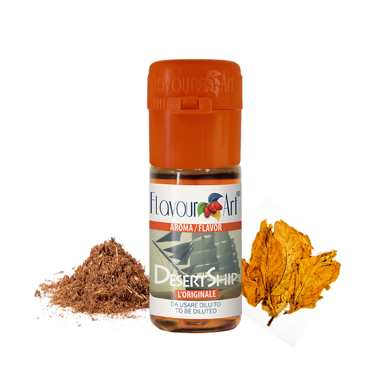 Příchuť FlavourArt: Desert Ship (Tabák) 10ml