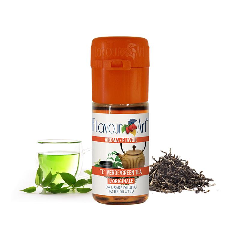 Příchuť FlavourArt: Čaj zelený (Tea Green) 10ml