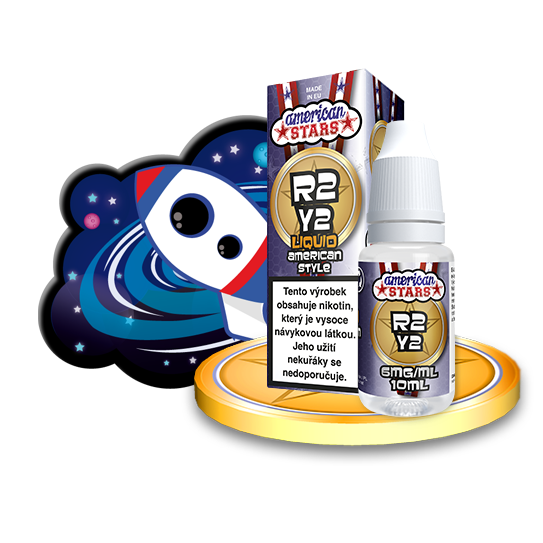 E-liquid American Stars 10ml / 6mg: R2Y2
