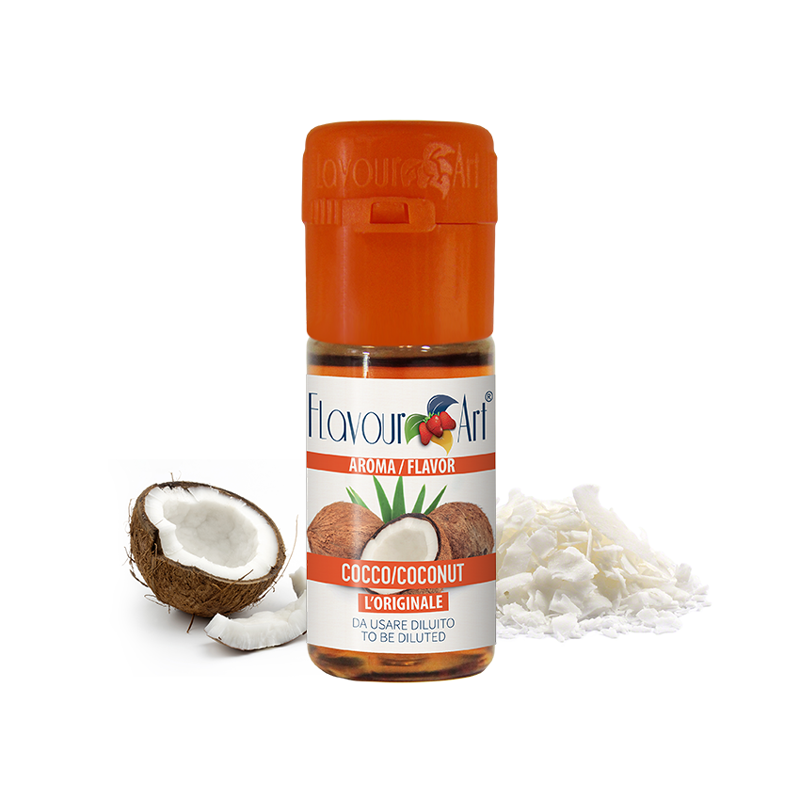Příchuť FlavourArt: Kokos (Coconut) 10ml