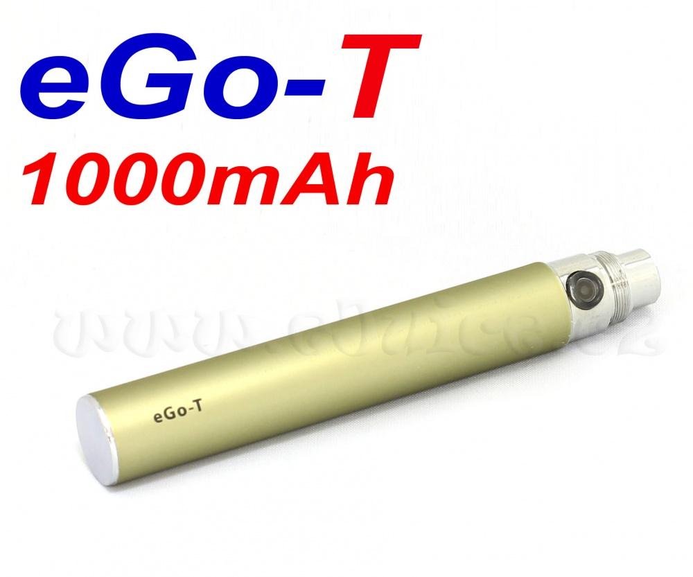 [!Doprodej] - Baterie Joyetech eGo-T - MEGA XL (1000mAh) - MANUAL (Titanová)