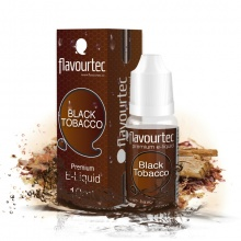 E-liquid Flavourtec 10ml / 0mg: Black Tobacco (Černý tabák)