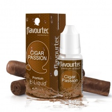 E-liquid Flavourtec 10ml / 0mg: Cigar Passion (Doutník)