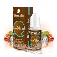 E-liquid Flavourtec 10ml / 0mg: Ice Tobacco (Tabák & Mentol)