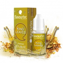 E-liquid Flavourtec 10ml / 0mg: King Leaves (Tabák)