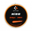 Ni80 - odporový drát 0,5mm 24GA (10m) - GeekVape