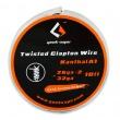 Twisted Clapton Kanthal A1 - odporový drát 2x 26GA + 32GA (3m) - GeekVape