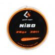 Ni80 - odporový drát 0,4mm 26GA (10m) - GeekVape