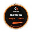 SS316L - odporový drát 0,4mm 26GA (10m) - GeekVape