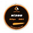 Ni200 - odporový drát 0,2mm 32GA (10m) - GeekVape