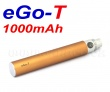Baterie Joye eGo-T - MEGA XL (1000mAh) - MANUAL (Copper)