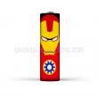 Smršťovací folie pro baterie 18650 s potiskem (Iron Man)