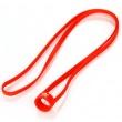 Univerzální silikonová šňůrka na krk pro e-cigarety 19 - 22mm (Červená)
