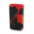Silikonové pouzdro pro Sigelei Fuchai TC 213W (Černo-červené)