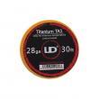 Titanium TA1 - Titanový odporový drát 0,3mm 28GA (10m) - UD