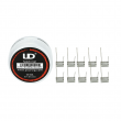Předmotané spirálky UD Notch Coil SS316L 0,35ohm (10ks)