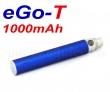 [!Doprodej] - Baterie Joyetech eGo-T - MEGA XL (1000mAh) - MANUAL (Modrá)
