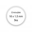 Sada O-kroužků / těsnění 16x1,5 mm (5ks)