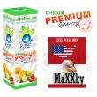 E-liquid: PREMIUM - 10ml / 36mg: MaXXky (RED USA MIX)