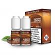 E-liquid Ecoliquid Double Pack 2x10ml / 3mg: Káva